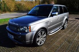 RANGE ROVER SPORT HST TDV8 - 78K - FULL MOT - 1 PREVIOUS OWNER - MASSIVE SPEC!