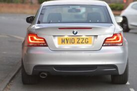 2010 BMW 118D M SPORT DIESEL   TITAN SILVER  MANUAL  REVERSE PARKING CAMERA   LOW MILLAGE   RARE