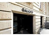 PART TIME AND FULL TIME WAITER WANTED AT GAUCHO LEEDS