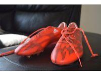adidas Football Boots F50 Adizero mens size 9