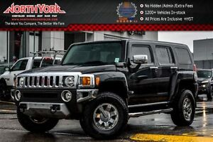 2008 Hummer H3 SUV|4x4|Luxury,ChromePkgs|Sunroof|Nav|HtdFrSeats|