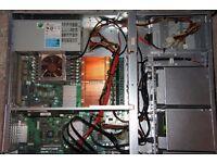 Server 2x Xeon 5160, 16GB RAM, 128GB SSD, 1TB HDD, 500GB HDD, QUIET(!) COOLING