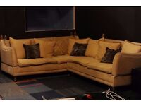 Large beige corner sofa in 2 pieces - must be picked up by Friday 27th January