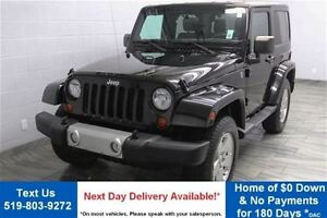 2012 Jeep Wrangler SAHARA 4WD w/ ALLOYS! BLUETOOTH! POWER PACKAG