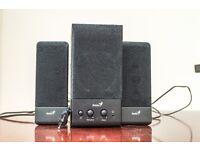 Genius SW-S2.1 350 9 Watts 2.1 Black Speaker