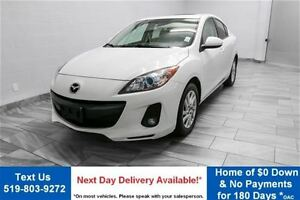 2013 Mazda MAZDA3 GS-SKYACTIV! 6-SPEED SEDAN! LEATHER! SUNROOF!