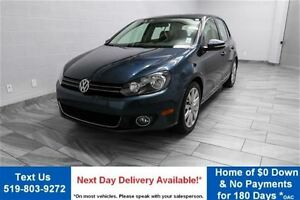 2013 Volkswagen Golf 2.5L HIGHLINE! 5-SPEED! NAVIGATION! LEATHER
