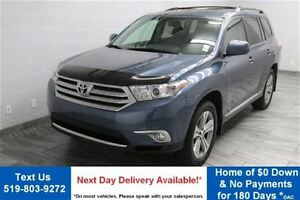 2011 Toyota Highlander 4WD w/ LEATHER! SUNROOF! REVERSE CAMERA!