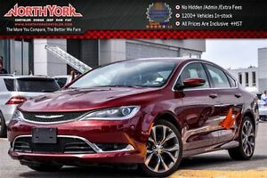 2016 Chrysler 200 C|PanoSunroof|Nav|BackUpCam|R-Start|DualClimat