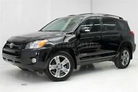 2010 Toyota RAV4 Sport V6 AWD * Cuir + Toit / Leather + Roof *