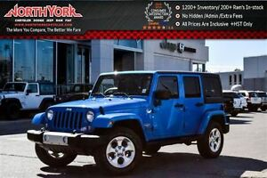 2015 Jeep WRANGLER UNLIMITED Sahara 4x4|1-Owner|Nav|Leather|Htd