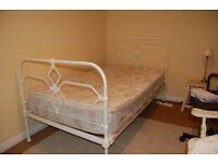 Antique Cast Iron Bed