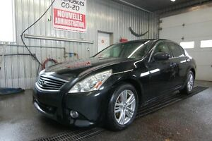 2011 Infiniti Berline G37 JAMAIS ACCIDENTE TECHNOLOGIE PACK AWD