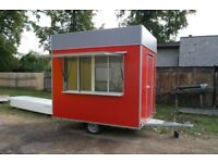 Business trailer, Food Cart, Burger Van, Food trailer, Business trailer, Street Food