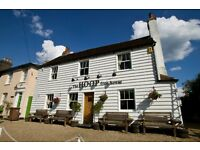 SOUS CHEF-THE HOOP IN STOCK ESSEX PUB WITH A 1 AA ROSETTE RESTAURANT