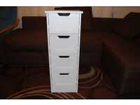 LASSIC / HOME VIDA Chest of 4 drawers / white drawers / small drawers