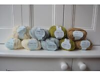 Debbie Bliss Rialto extra fine merino wool; perfect for baby blanket!