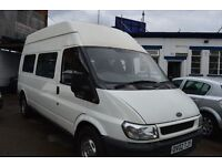 2002 Ford TRANSIT LWB 350 TD GOOD FOR DAY / CAMPERVAN PROJECT 1 YEAR MOT UNTIL 2018 MAY