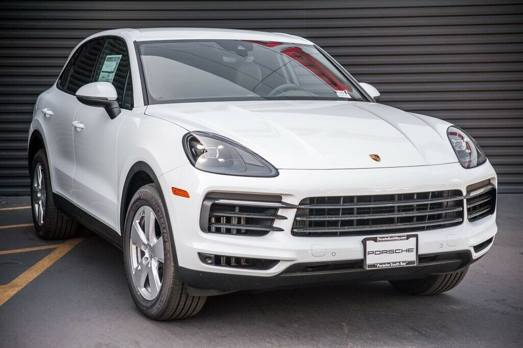2020 Porsche Cayenne  8 Miles White 4D Sport Utility 3.0L V6 8-Speed Automatic w