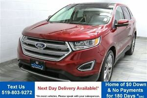 2015 Ford Edge TITANIUM AWD V6! NAVIGATION! LEATHER! PANORAMIC R