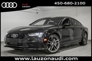 2017 Audi A7 3.0T TECHNIK S-LINE BLACK OPTICS