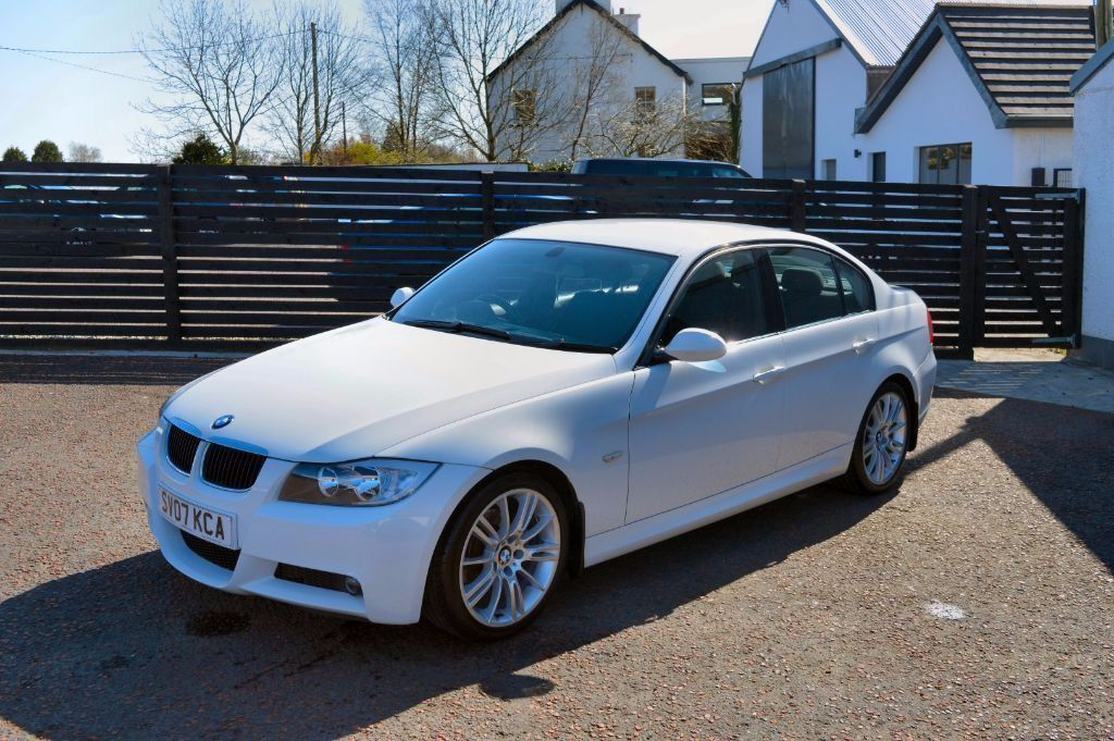 2007 bmw e90 320d m sport alpine white fsh immaculate example not 330d 520d 530d in. Black Bedroom Furniture Sets. Home Design Ideas