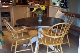 Refurbished Extending Leaf Dining Table Antique/Vintage/Retro