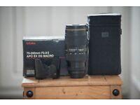 Nikon Sigma APO DG EX 70-200mm 2.8 II Macro HSM