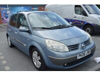 2006 Renault MEGANE SCENIC 1.9 DCI DIESEL IN GOOD CONDITION WITH MOT UNTIL MARCH 2018