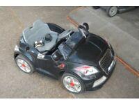 Ride on Electric Audi TT