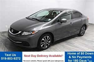 2013 Honda Civic EX! SUNROOF! HEATED SEATS! ALLOYS!  A/C! CRUISE