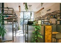 Palmspace: Coworking / Creative Shared Space / Fixed Desk / Hackney Downs Studios