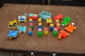 Vintage Fisher Price Figures