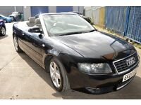 Audi A4 T Sport 2005 Convertible in excellent condition MOT Until September 2016