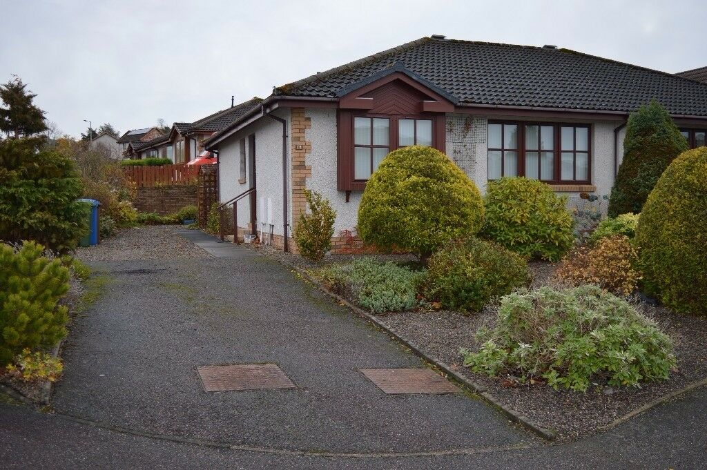 2 bed Semi-Detached Bungalow with Conservatory for Sale , Inshes Area, Inverness