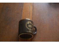 Cross pens vintage collectible commmemorative black mug ,135 years