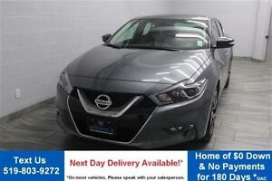 2017 Nissan Maxima SV w/ LEATHER! NAVIGATION! POWER SEAT! HEATED