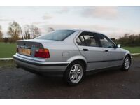 E36 BMW 320i SE, 84K, FSH, 6 Cylinder, Automatic, Original and Rare. MOT September 2018