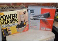 Power Steamer and Hot air gun