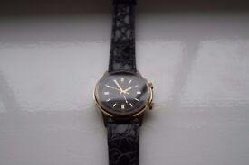 Poljot Russian Sekonda manual wind mechanical alarm wristwatch -Cal 2612 - NOS