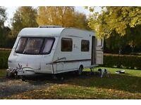 Swift Lifestyle 570 6 berth birth 2005 Charisma Challenger caravan