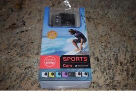 BRAND NEW IN BOX 2.0 INCH SCREEN FULL HD 1080P SPORTS CAMERA WATERPROOF TO 30 METRES