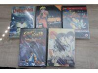 ANIME MANGA DVD lot - Fruits Basket, Naruto, etc. New-Like Condition