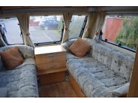 2005 Swift Islay 5 berth caravan plus awning and accessories. Everything you need to get started
