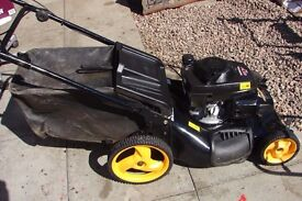 maculloch 22 inch cut rotary mower with grassbox