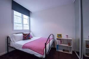 Spacious double bedroom in a swanky city centre apartment Melbourne CBD Melbourne City Preview