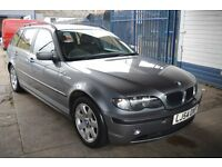 BMW 3 SERIES 2004 in Excellent condition with 1 year MOT 2017