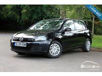 2009 Volkswagen Golf 1.6 S 5dr £4795
