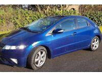 2010(59 Honda Civic Se I-Vtech,Full Dealer History,Long Mot