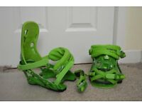 Rome 390 snowboard bindings size L/XL